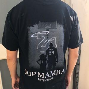 Kobe Bryant RIP mamba tribute t shirt